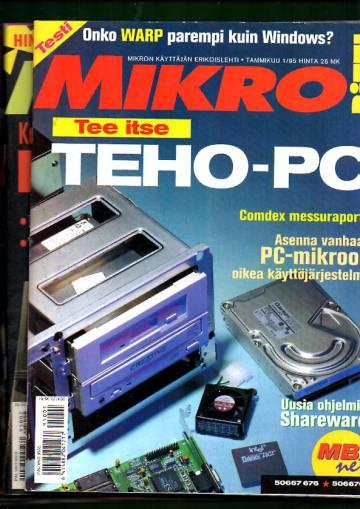 Mikrobitti 1995 Vuosikerta (1-12)