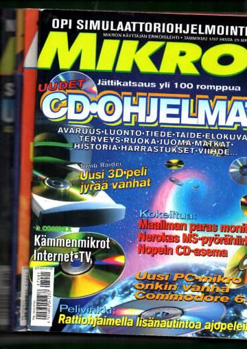 Mikrobitti 1997 Vuosikerta (1-12)