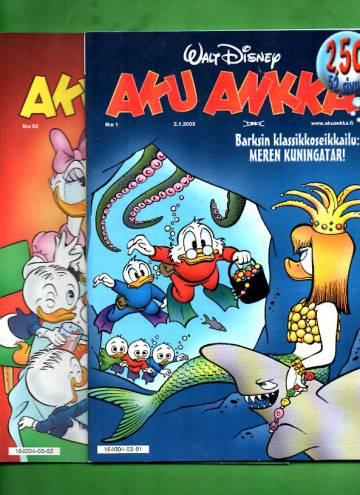 Aku Ankka -vuosikerta 2003 (1-52/03)