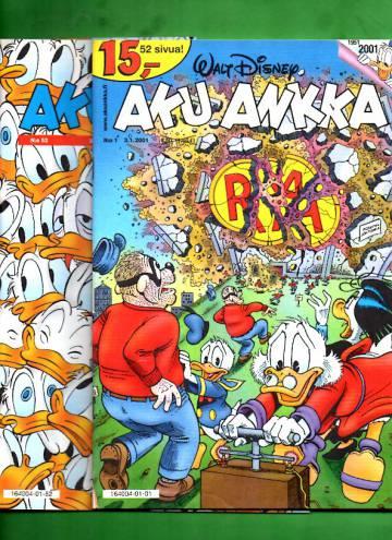 Aku Ankka -vuosikerta 2001 (1-52/01)