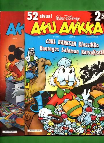 Aku Ankka -vuosikerta 2006 (1-52/06)