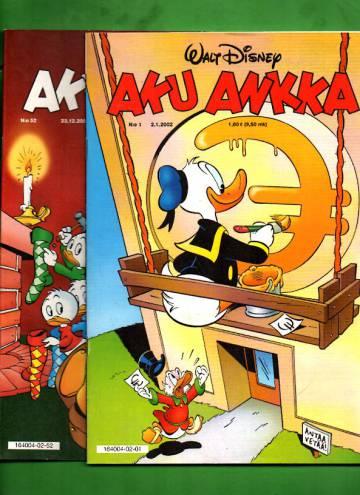 Aku Ankka -vuosikerta 2002 (1-52/02)