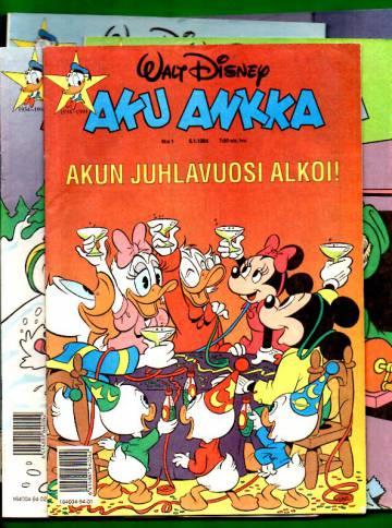 Aku Ankka -vuosikerta 1994 (1-52/94)