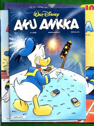 Aku Ankka -vuosikerta 2000 (1-52/02)