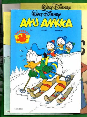 Aku Ankka -vuosikerta 1996 (1-52/96)