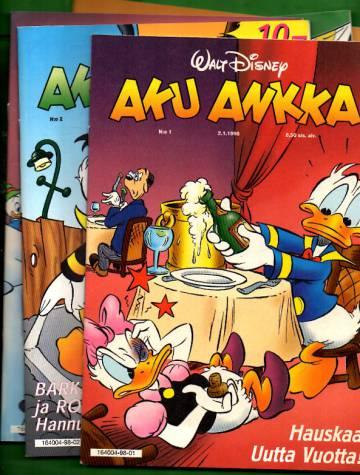 Aku Ankka -vuosikerta 1998 (1-52/98)