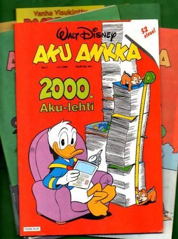 Aku Ankka -vuosikerta 1995 (1-52/95)