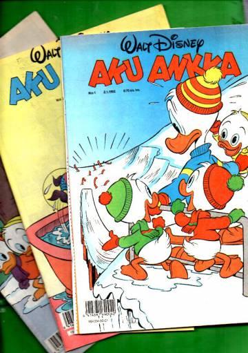 Aku Ankka -vuosikerta 1992 (1-52/92)