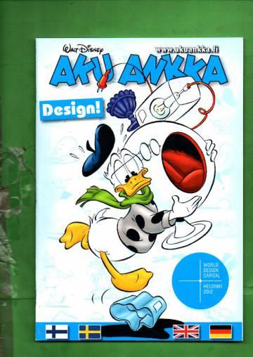 Aku Ankka - Design-erikoisnumero 2012