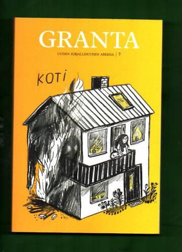 Granta - Uuden Kirjallisuuden Areena 7: Koti