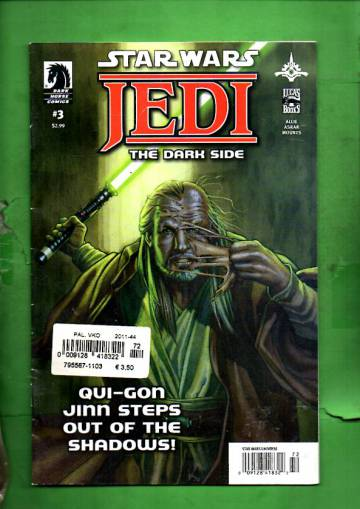 Star Wars: Jedi - The Dark Side #3 Jul 11