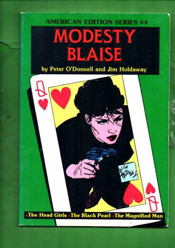 Modesty Blaise - American Edition Series #4