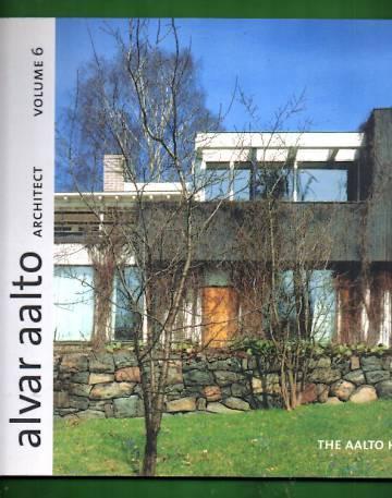Alvar Aalto Architect Volume 6 - The Aalto House 1935-36