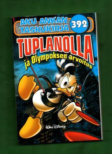 Aku Ankan taskukirja 392 - Tuplanolla ja Olympoksen arvoitus