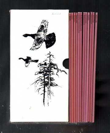 Metsäkanalintututkimuksia-sarja (12 kirjaa ja säilytyskotelo)