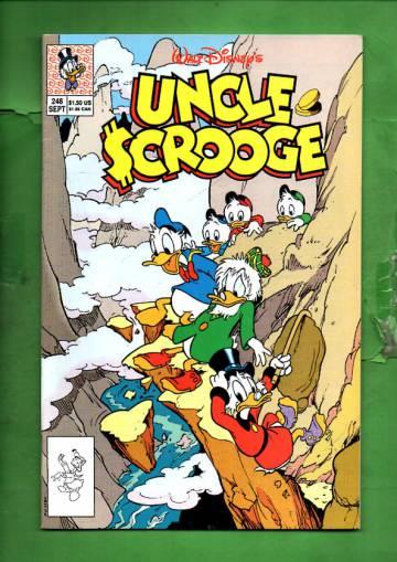 Walt Disney's Uncle Scrooge #246 Sep 90