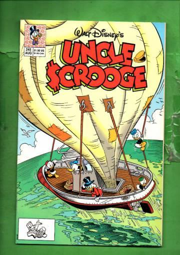 Walt Disney's Uncle Scrooge #245 Aug 90