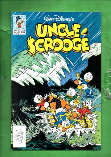Walt Disney's Uncle Scrooge #243 Jun 90