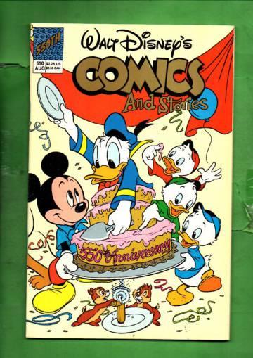 Walt Disney's Comics & Stories #550 Aug 90