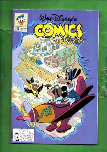 Walt Disney's Comics & Stories #582 Apr 93