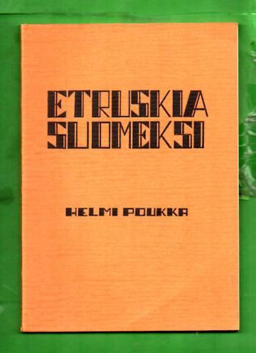 Etruskia suomeksi