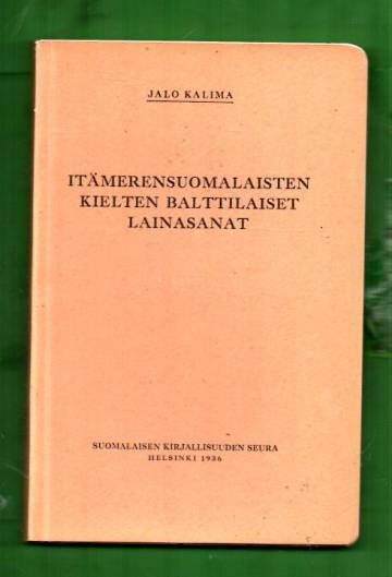 Itämerensuomalaisten kielten balttilaiset lainasanat