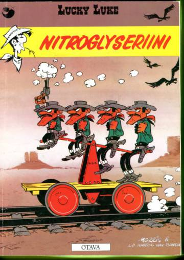 Lucky Luke 53 - Nitroglyseriini (1. painos)