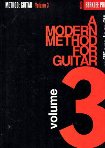 A Modern Method for Guitar - Volume 3
