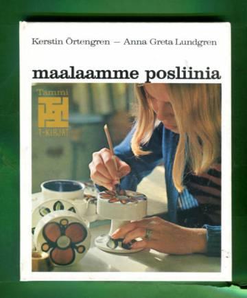Maalaamme posliinia - Posliininmaalausta omien ideoiden ja aiheiden mukaan