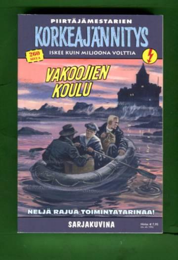 Korkeajännitys 6E/17 - Piirtämestarien Korkeajännitys: Vakoojien koulu