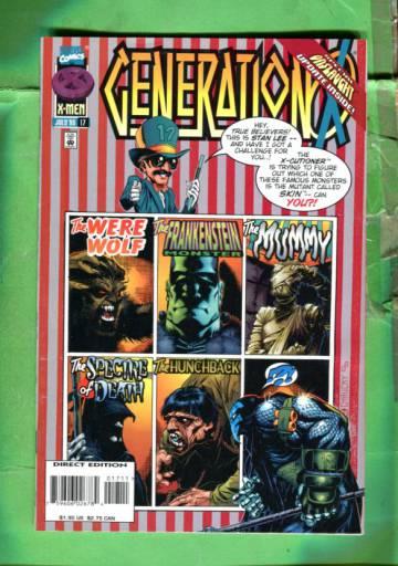 Generation X Vol 1 #17 Jul 96