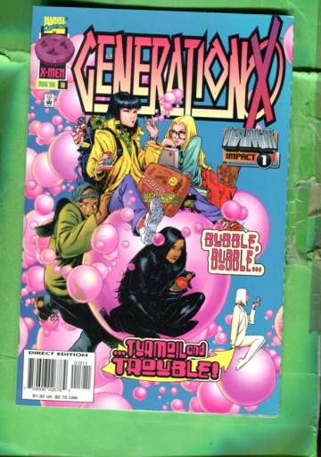Generation X Vol 1 #18 Aug 96