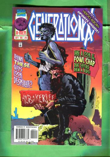 Generation X Vol 1 #20 Oct 96