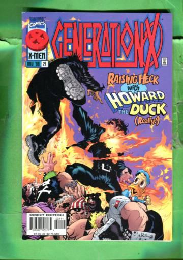 Generation X Vol 1 #21 Nov 96