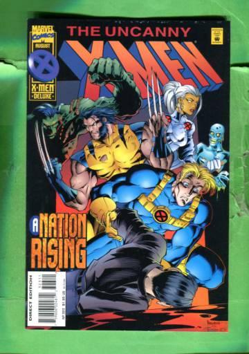 Uncanny X-Men Vol 1 #323 Aug 95