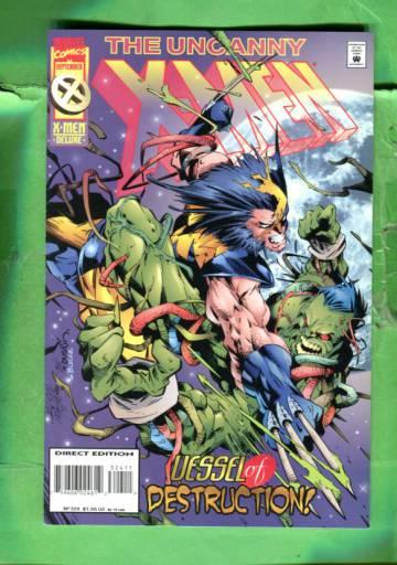 Uncanny X-Men Vol 1 #324 Sep 95