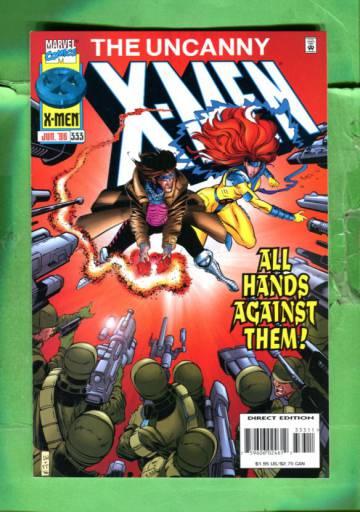 Uncanny X-Men Vol 1 #333 Jun 96