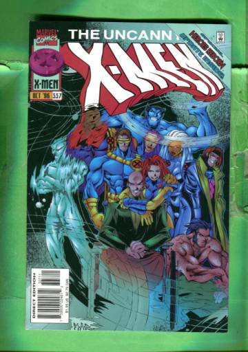 Uncanny X-Men Vol 1 #337 Oct 96