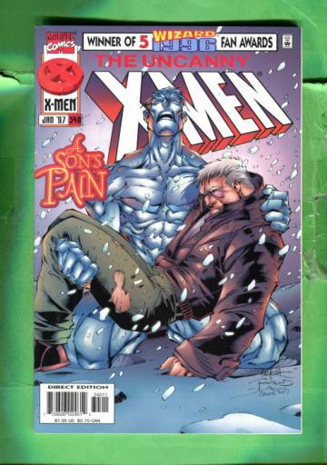 Uncanny X-Men Vol 1 #340 Jan 97
