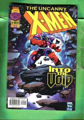 Uncanny X-Men Vol 1 #342 Mar 97