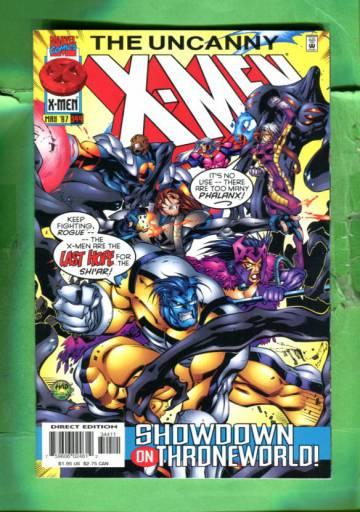Uncanny X-Men Vol 1 #344 May 97