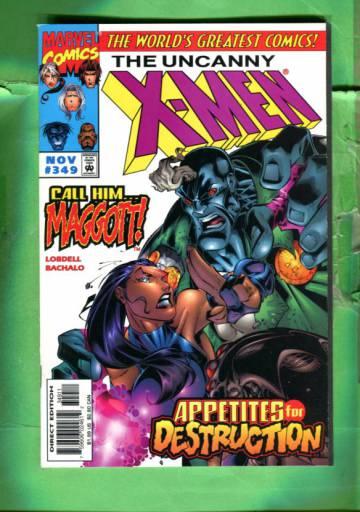 Uncanny X-Men Vol 1 #349 Nov 97