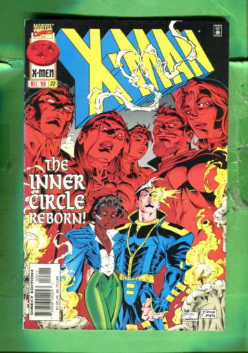 X-Man Vol 1 #22 Dec 96