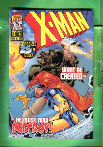 X-Man Vol 1 #25 Mar 97