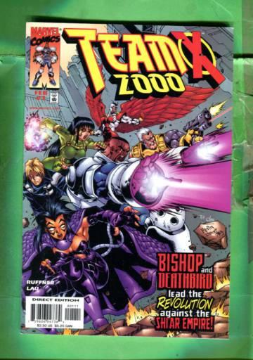 TeamX 2000 Vol 1 #1 Feb 99