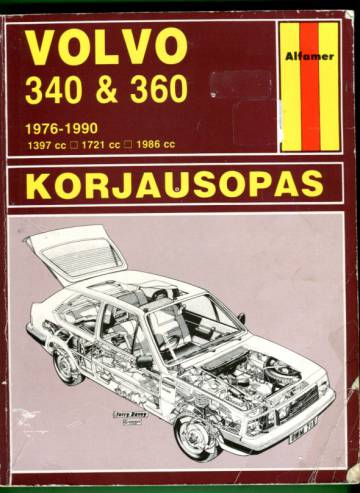Volvo 340 & 360 1976-1990 -korjausopas