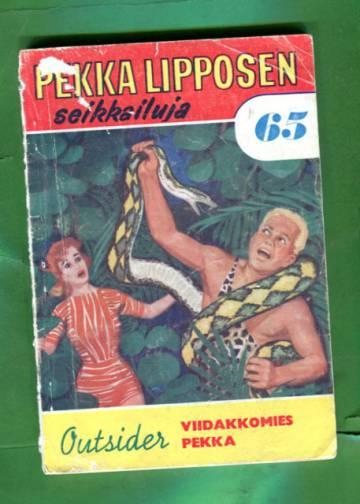 Pekka Lipposen seikkailuja 65 (5/62) - Viidakkomies Pekka