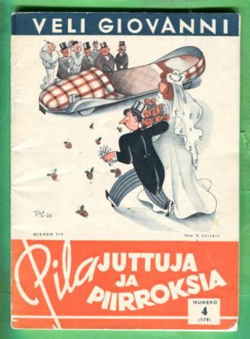 Pilajuttuja ja piirroksia N:o 4 (178) v. 1943