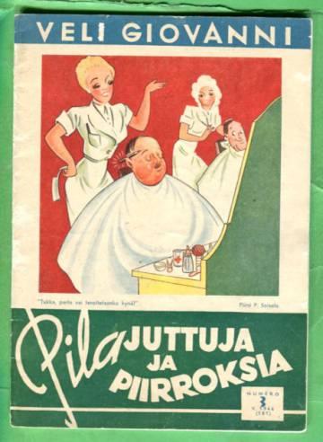 Pilajuttuja ja piirroksia N:o 3 (181) v. 1944