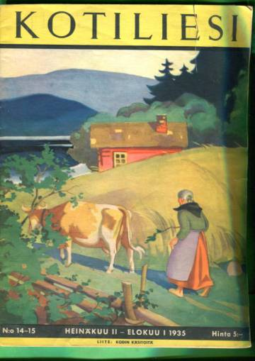 Kotiliesi N:o 14-15/1935 (Martta Wendelin)